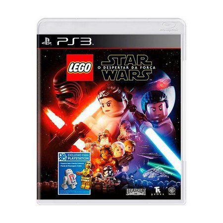 LEGO STAR WARS O DESPERTAR DA FORÇA PS3 USADO