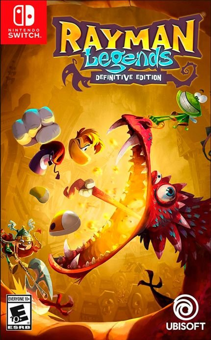 RAYMAN LEGENDS SWITCH USADO