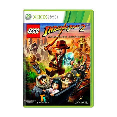 LEGO INDIANA JONES 2 X360 USADO