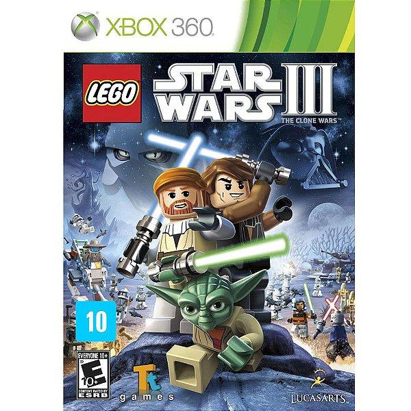 LEGO STAR WARS III XBOX 360 USADO