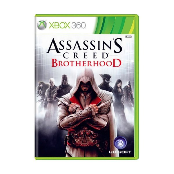 ASSASSINS CREED BROTHERHOOD XBOX 360 USADO