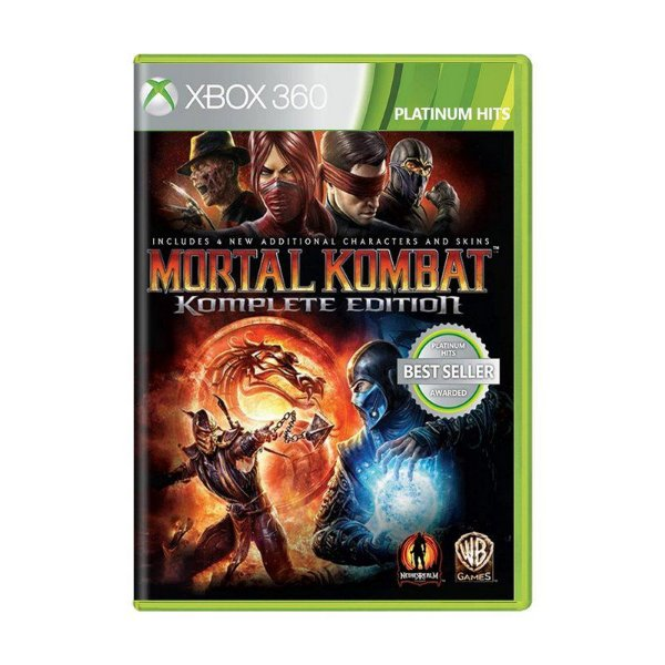 MORTAL KOMBAT KOMPLETE EDITION XBOX 360 USADO
