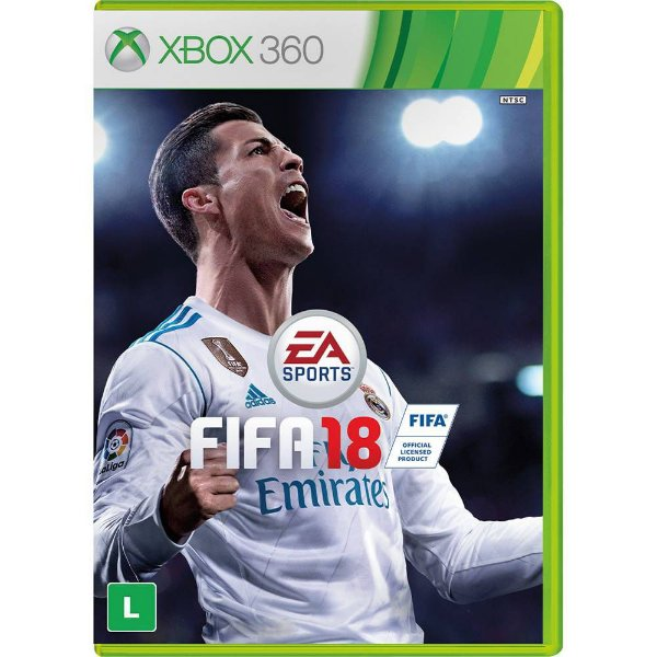 FIFA 18 X360 USADO