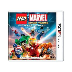 LEGO MARVEL SUPER HEROES 3DS USADO