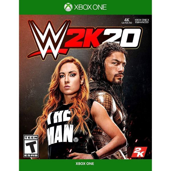 WWE 2K20 XONE USADO