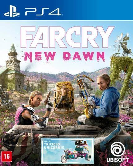 FAR CRY NEW DAWN PS4 USADO