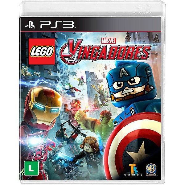 LEGO VINGADORES PS3 USADO