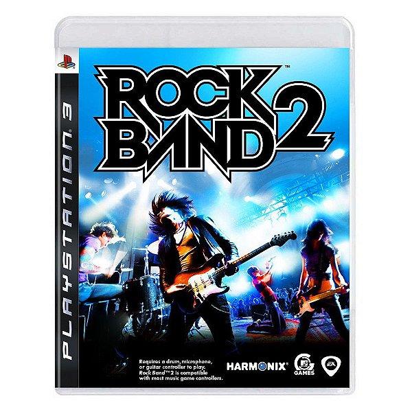 ROCK BAND 2 PS3 USADO