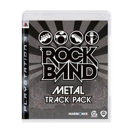 ROCKBAND METAL TRACKPACK PS3 USADO