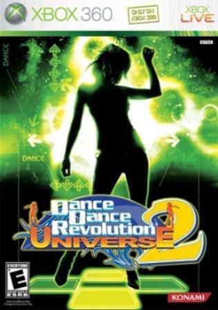 DANCE DANCE REVOLUTION UNIVERSE 2 XBOX 360 USADO