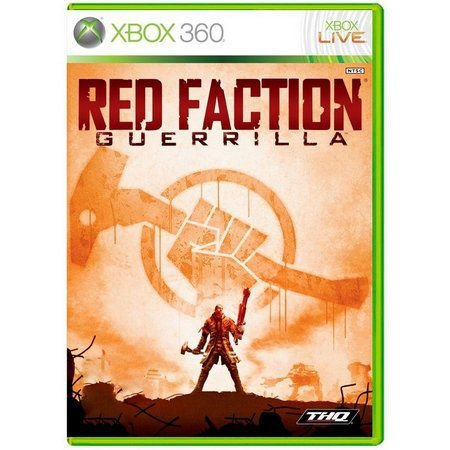 RED FACTION GUERRILLA X360 USADO