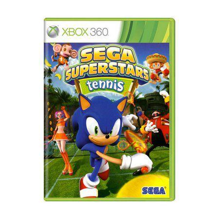 SEGA SUPERSTAR TENNIS / XBOX LIVE COMPILATION X360 USADO
