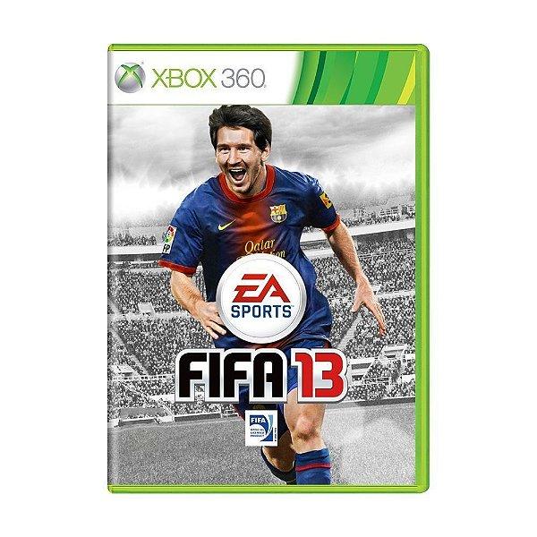 FIFA 13 XBOX 360 USADO