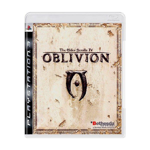 THE ELDER SCROLLS IV OBLIVION PS3 USADO