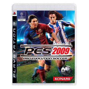 PES 2009 PS3 USADO
