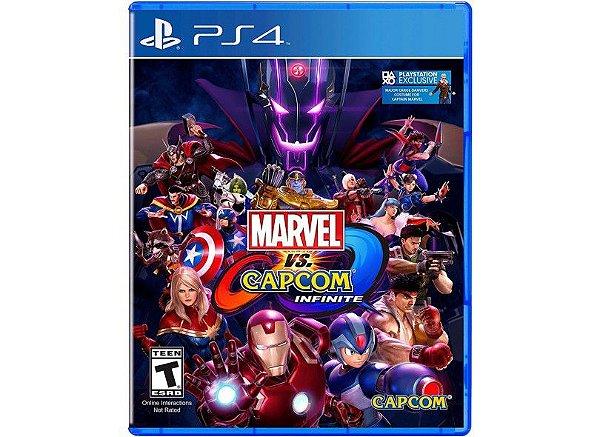 MARVEL VS CAPCOM INFINITE PS4 USADO