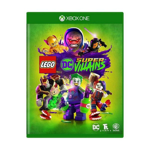 LEGO DC SUPER VILLAINS XBOX ONE USADO