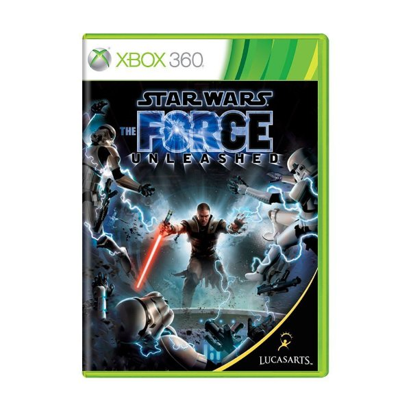 STAR WARS THE FORCE UNLEASHED XBOX 360 USADO