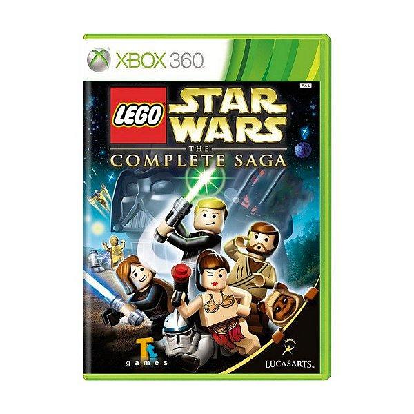 LEGO STAR WARS THE COMPLETE SAGA X360 USADO