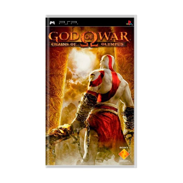 GOD OF WAR CHAINS OF OLYMPUS PSP USADO