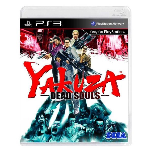 YAKUZA DEAD SOULS PS3 USADO