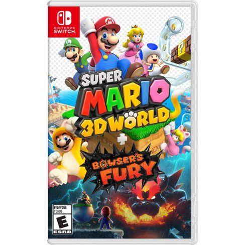 SUPER MARIO 3D WORLD + BOWSER FURY SWITCH