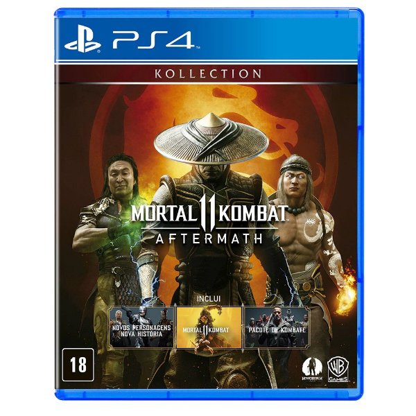 MORTAL KOMBAT 11 AFTERMATH PS4 USADO