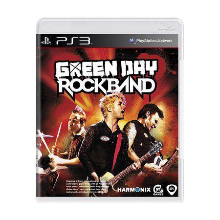 GREEN DAY ROCKBAND PS3 USADO