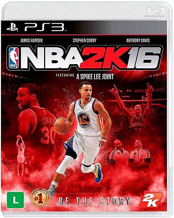 NBA 2K16 PS3 USADO