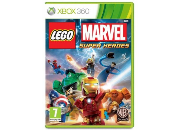 LEGO MARVEL SUPER HEROES X360 USADO