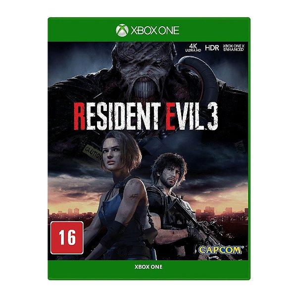RESIDENT EVIL 3 REMAKE XBOX ONE - MÍDIA DIGITAL