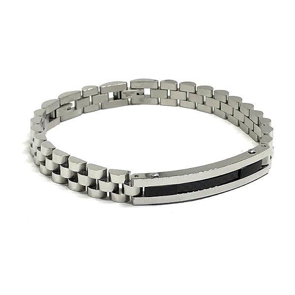 Pulseira aço Premium Silver [série LIMITADA]