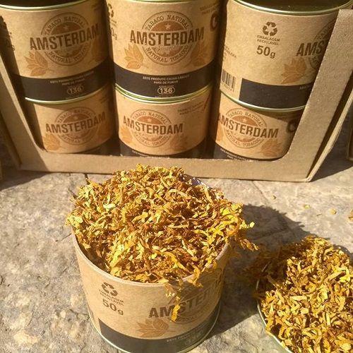 Tabaco p/ Cachimbo Amsterdam - Lata