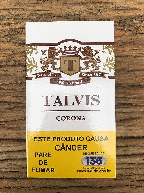 Charuto Talvis Corona Chocolate Petaca c/5