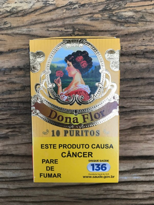 Cigarrilha Dona Flor 10 Puritos