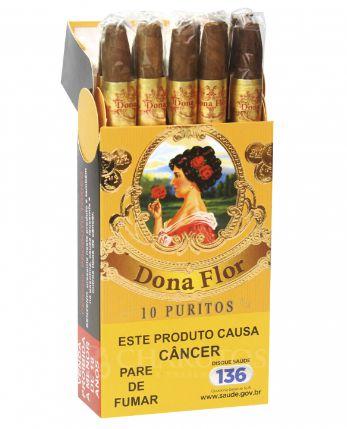 Cigarrilha Dona Flor 10 Puritos