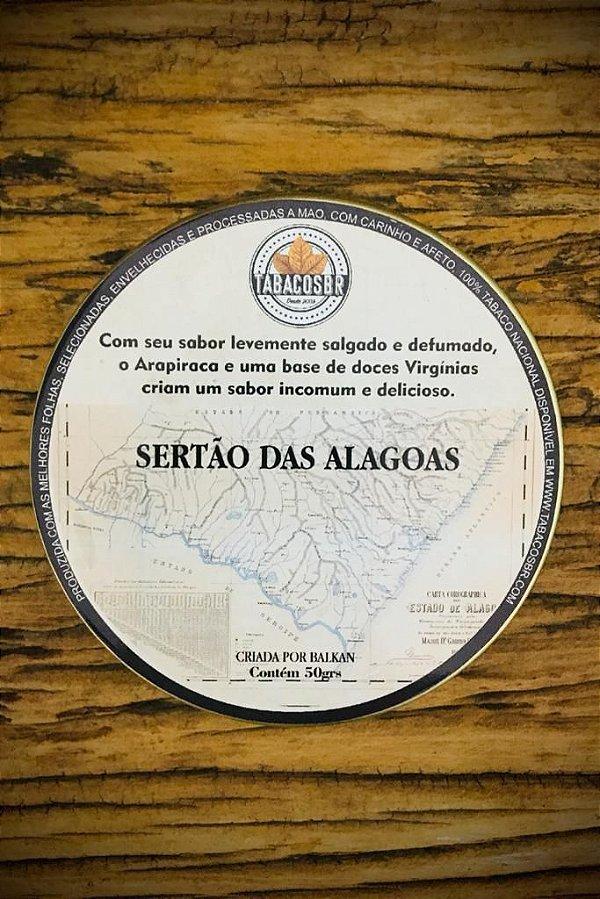 Sertão das Alagoas TabacosBR (Lata) 50gr