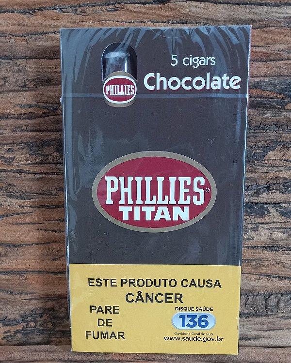 Charuto  Phillies Titan - Chocolate - CX
