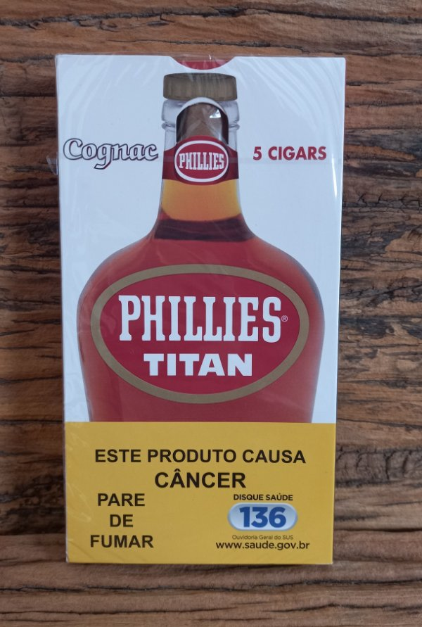 Charuto Phillies Titan Cognac  - Ptc (05)