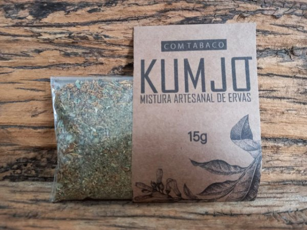 Kumjó - Mistura Artesanal de Ervas - Com Tabaco