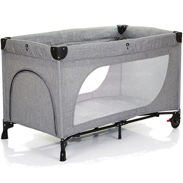 Berço Desmontavel Cercado ABC Design Moonlight Woven Grey