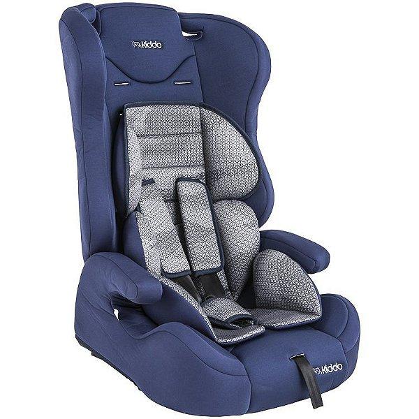 Cadeirinha para Carro Kiddo City Isofix Azul Marinho 9 a 36 Kg