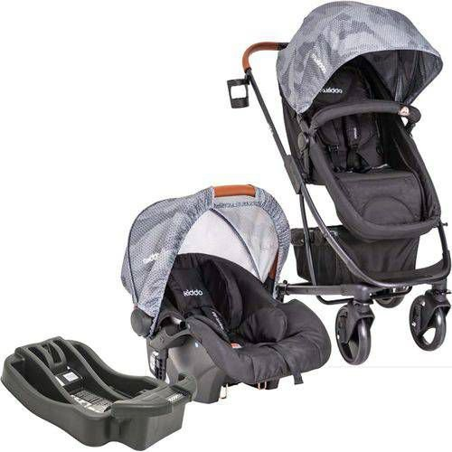 Carrinho de Bebe Bebe Conforto e Base Kiddo Nexus Preto