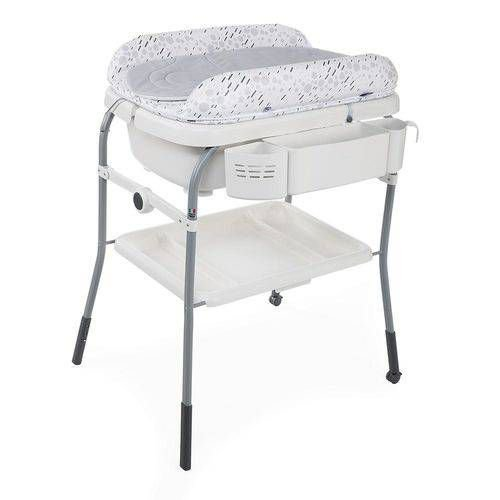 Banheira Chicco Cuddle&Bubble Cool Grey