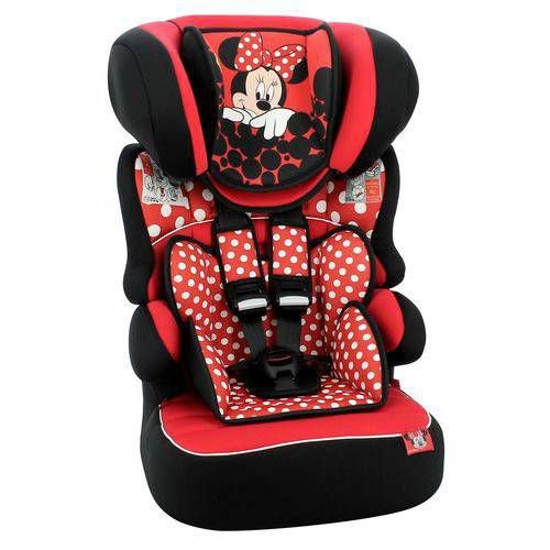 Cadeirinha para Carro Team Tex Beline Minnie Mouse Red 9 a 36 Kg