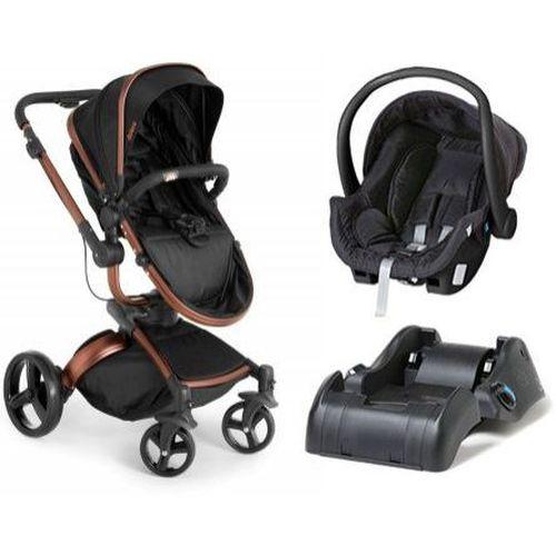 Carrinho de Bebe Bebe Conforto e Base Dzieco Vulkan 360º Preto