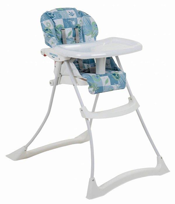 Cadeira de Refeição Burigotto Papa & Soneca Peixinhos Azul