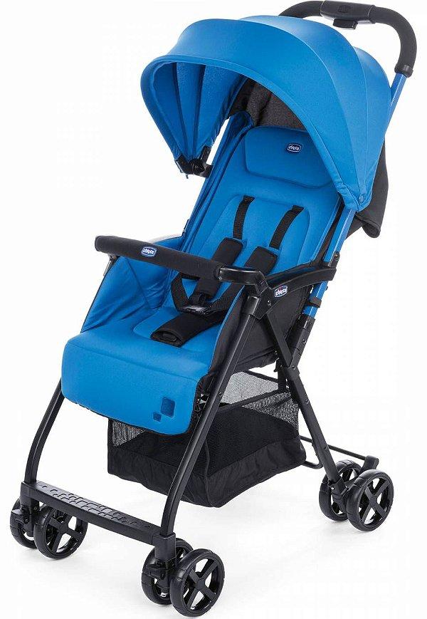 Carrinho de Bebe Chicco Ohlala 2 Power Blue Azul Passeio Leve