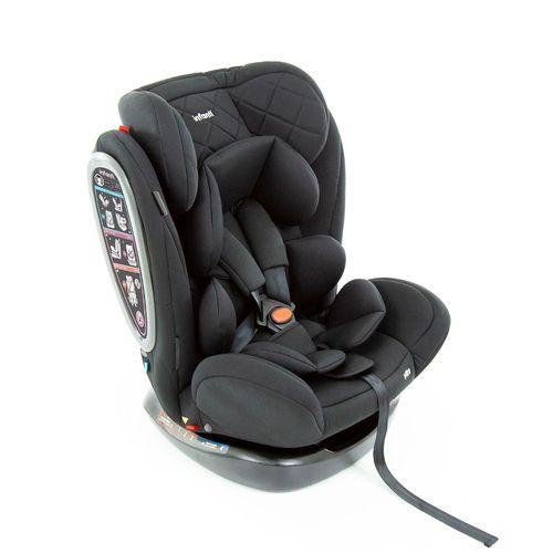 Cadeirinha para Carro Infanti Vita Black Strong 0 a 36 Kg