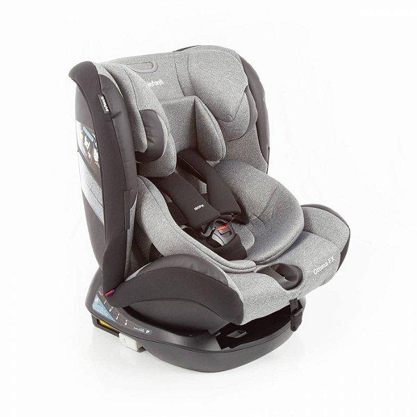 Cadeirinha para Carro Infanti Ottima Fix Grey Infanti 0 A 36 Kg